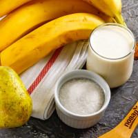 Грушево банановый бискв Salt